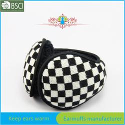 promotion gift chess knitting ear warmer