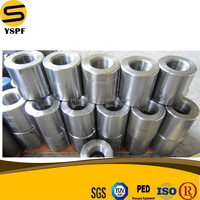 forged steel pipe fittings threaded or socket weld gi coupling a182 f304