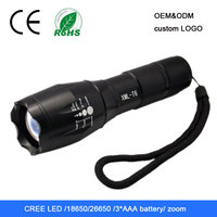 best rechargeable hot selling zoom bicycle led torch light