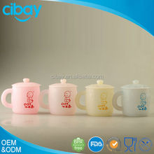 Full color baby products adorable new design growth children tableware