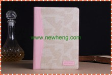 Jean cloth leather cases for ipad5, cowboy leather case for ipad mini