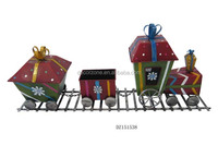 Metal Outdoor Christmas Gift Train