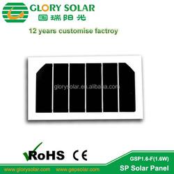 Sunpower Mini Flexble Solar Panel for Jacket Umbrella