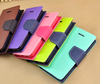 Stand Wallet Flip Credit Card Case PU Leather Hybrid Cell Phone Cover for iPhone 5/5S