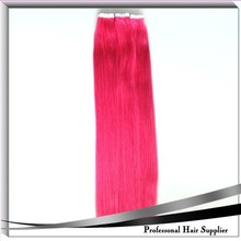 High quality synthetic tangle free tape hair extension