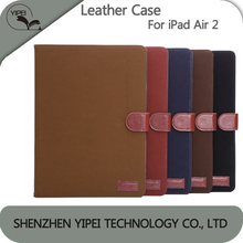 Leather Phone For iPad Air 2 Case Back Cover Leather Case for ipad air 2 the manufacturer Price