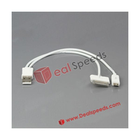 2 in 1 USB Data Sync Charger Cable for iPad for iPhone for iPod for Samsung for BlackBerry for HTC