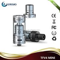 2015 Newest design Original Smok TFV4 mini 3.5ml tank big vapor 100% no leaking wholesale electronic cigarette atomizer