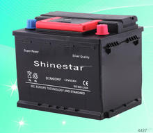 Manufacturer supply 12 v 60AMP volta cars battery With Best wholesale price