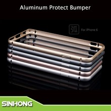 Multi Colors 0.7mm Tickness Aluminum Protect Bumper Case For iPhone 6