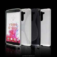 New Arrival Rubber TPU Phone Case For LG G VISTA VS880 Silicone Skin Soft Case