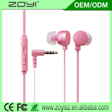 Manufacturer supply plastic in ear headphone case for wholesales