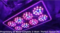 300 Watt Led Quad-Band Grow Light   Grow box use Led Grow Light   super dual grow tent 300 watt led grow lighting panel