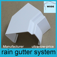 low price pvc rainwater gutters supplier malaysia
