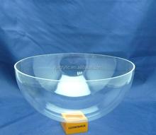 Customized acrylic large plastic hemisphere dome