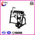 sentado bíceps ejercicio vibratorio de la máquina de la correa