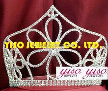fashion flower bride pageant beautiful crown ornaments tiara crowns