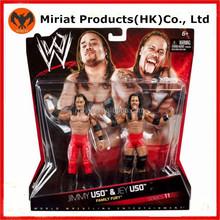 Hot gift plastic wwe people type boxing figurines