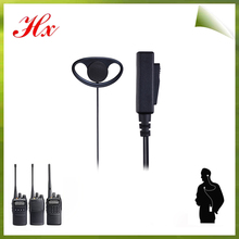 2015 two way radio accessories cheap radio earphone headset with certificate