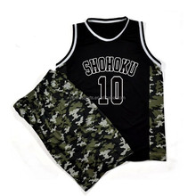 Wholesale blank jersey design for basketball
