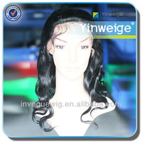 24h SALE,1 piece 20 inch, full lace body wave,human hair lace wig