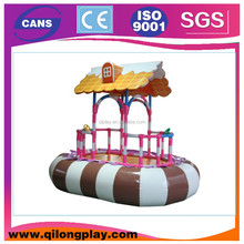 Shopping Center Indoor Kids Soft Play Baby Boat (QL-5094B)