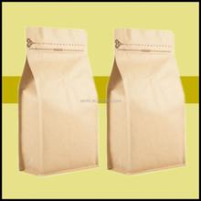 quad seal square bottom bag square bottom kraft paper bag quad seal kraft paper bag