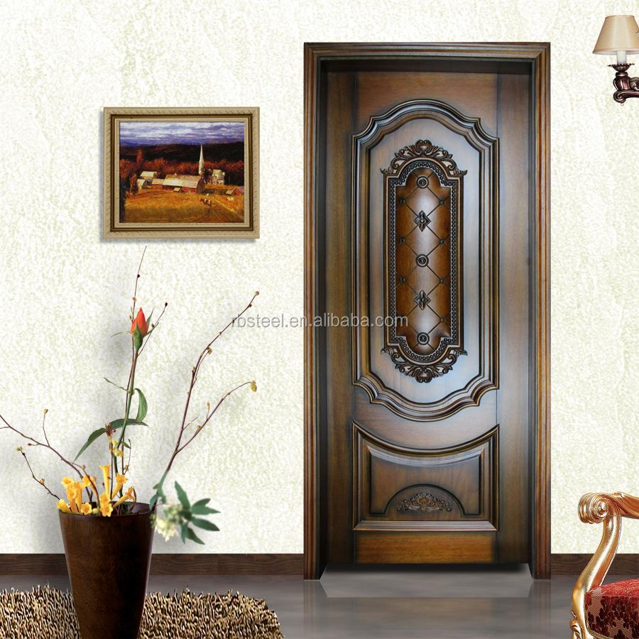 diseo elegante madera de nogal puerta interior para el chalet with puertas de interior de diseo