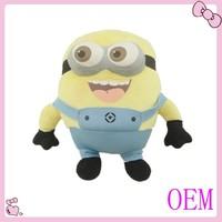 High quality custom minion plush toy