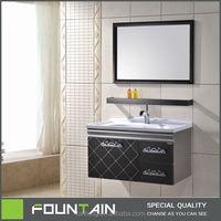 Simple Design Black Cabinet Homebase Bathroom Cabinet Small Bathroom
