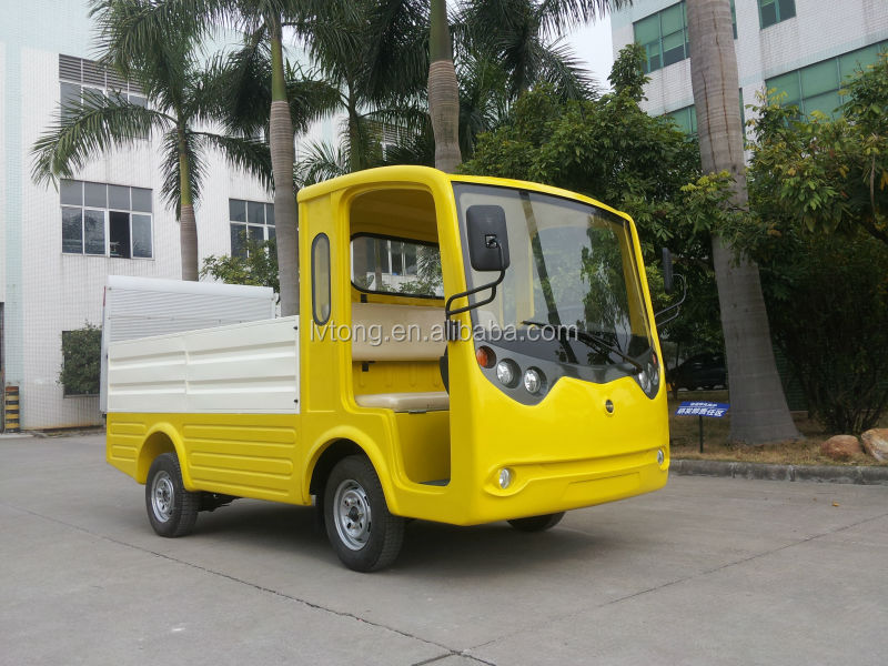 New Yellow 2 Person Electric Garbage Truck Car (lt-s2.hx ...