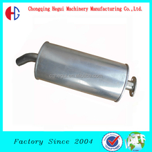 low price stainless steel universal muffler parts flexible car polishing exhaust pipe