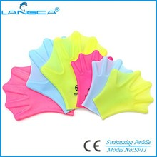 Promotional adult&kids swimming glove kit