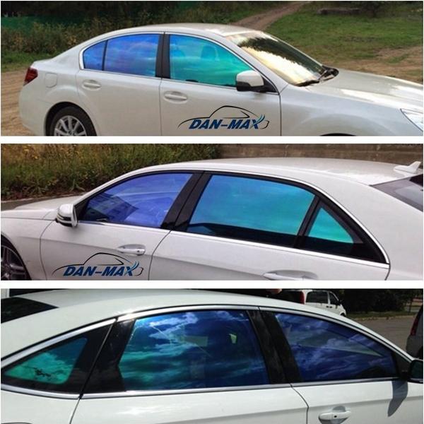 ... chameleon couleur avant de voiture nouvelle vitres teintées auto film