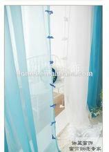 Especial 2014 caliente de ventas 100% de poliéster elegante sala de estar de la cortina
