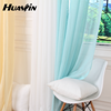 cheap voile curtain in good quality in modern curtain for hotels for hot selling