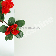 6mm clear white frosted art glass /building frosted art glass with 3C/CE/ISO certificate made in China