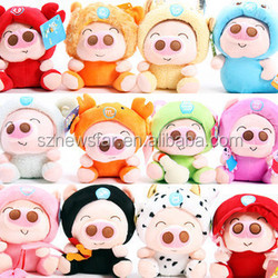OEM 18cm Plush toy cut pig voice recordable plush toy for christmas gift