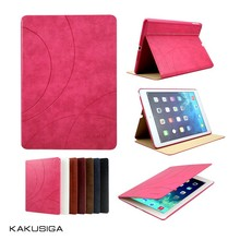 Kaku professional ultra-slim flip leather for sublimation ipad air case
