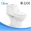 South American market porcelain sanitary washdown one piece toilet