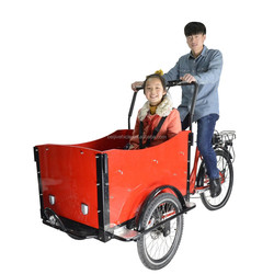 popular 3 wheel holland electric cargo tricycle for family to sale