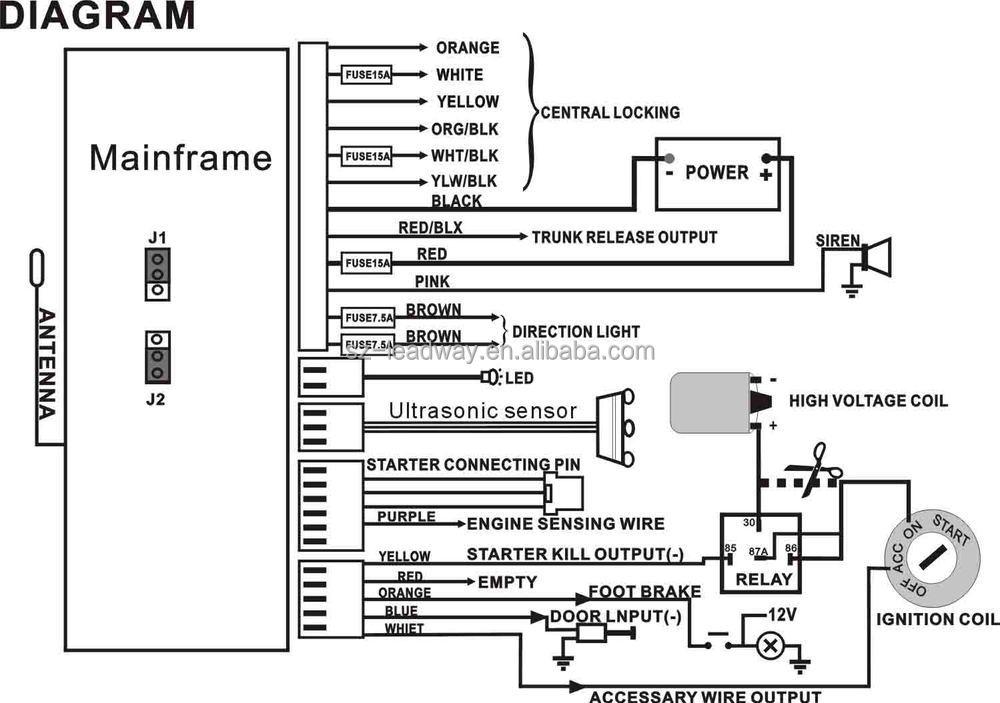Sigma Car Alarm Wiring Diagram : Hct n wire diagram creativeand