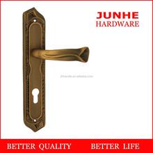 Wenzhou junhe, zinc alloy factory lock door handle