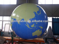Durable giant self inflating helium balloons