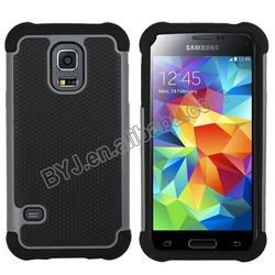 Super Soft Silicone Material pc &tpu Silicone Phone Case for Samsung Galaxy S5 mini