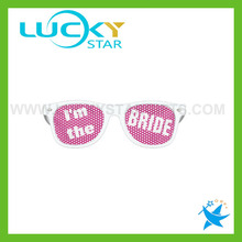 Funny wedding party sunglasses party favors pinhole glasses promotional sunglasses custom logo