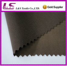 160D/P/N*320S/C polyester nylon cotton fabric peach finished fabric with pu coated