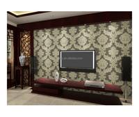 design non-wovenl wallpaper natural bamboo wallpaper heavy embossed wallpaper