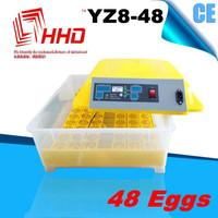 Hot sale YZ8-48 CE marked fertile chicken hatching eggs/egg turning motor for incubator