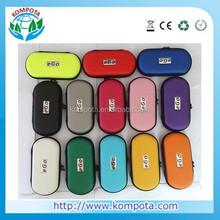 large/medium/small custom ego case, wholesale ego carrying case, leather ego zipper case